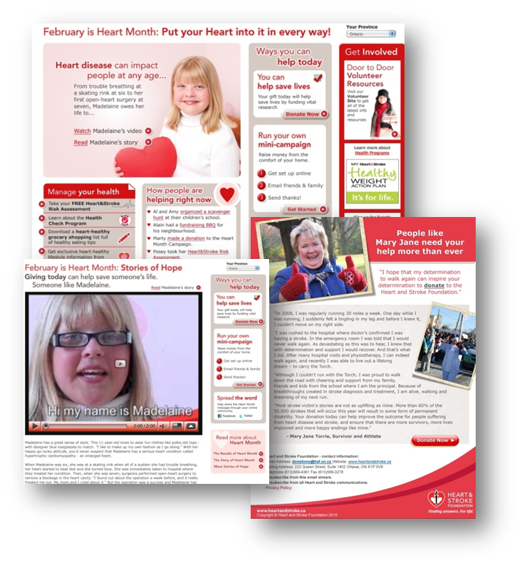 thinkdoDELIVERS  – Heart & Stroke Foundation Heart Month