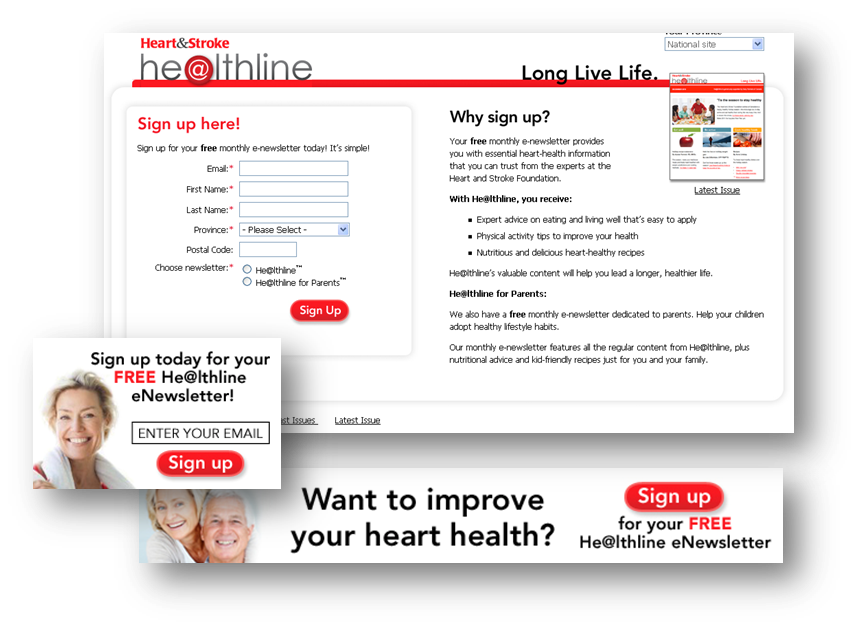thinkdoDELIVERS  – Heart & Stroke Foundation He@lthline