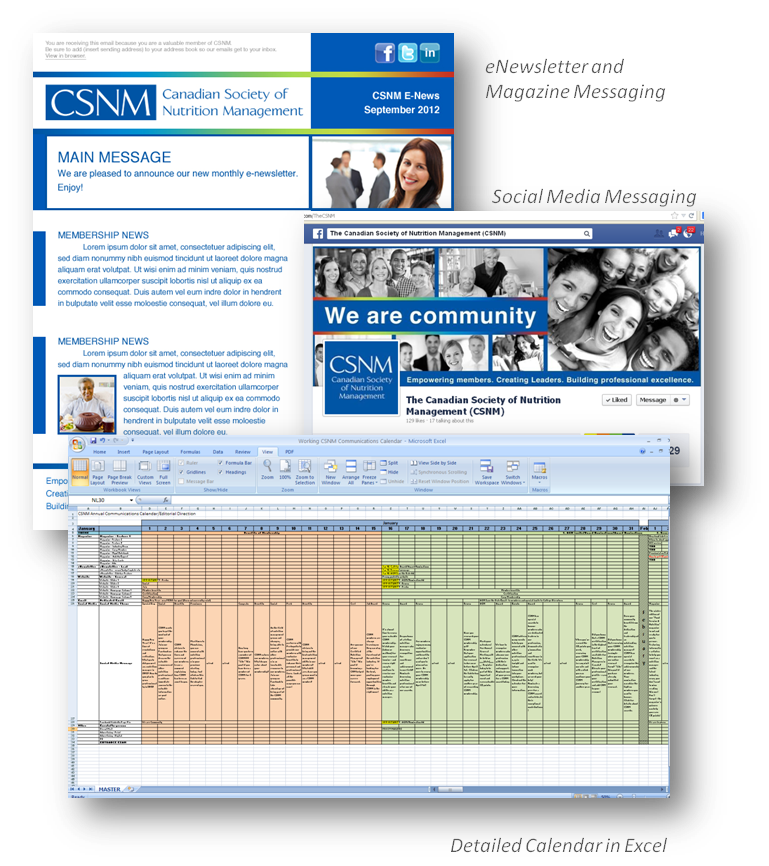 thinkdoDELIVERS – CSNM Communications Calendar