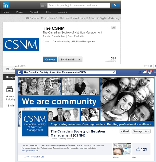 thinkdoDELIVERS – CSNM Social Media Plan