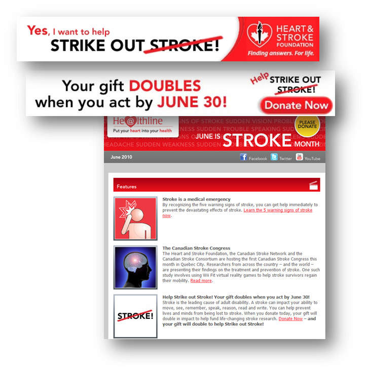thinkdoDELIVERS  – Heart & Stroke Foundation Stroke Month