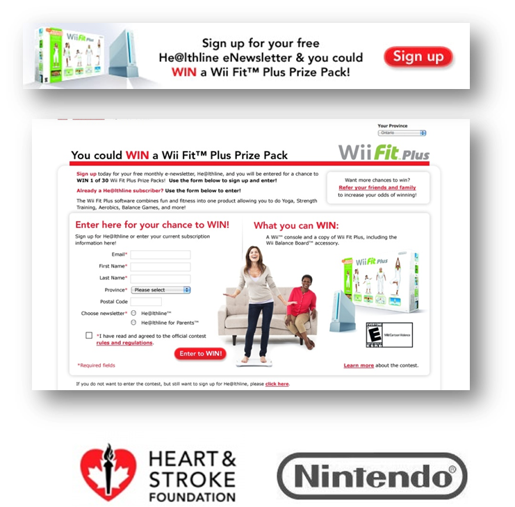 thinkdoDELIVERS – Heart & Stroke Foundation Nintendo Partnership