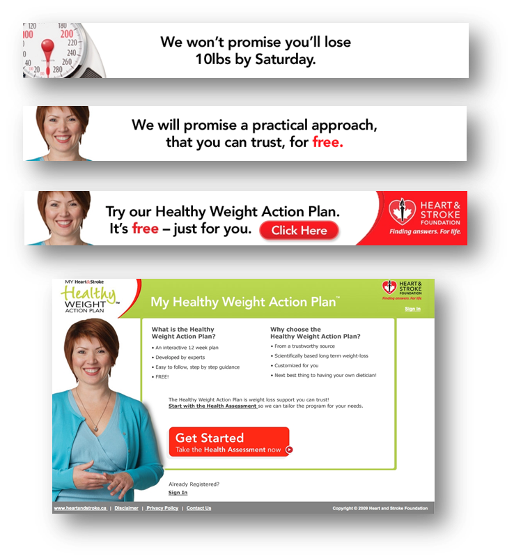 thinkdoDELIVERS  – Heart & Stroke Foundation e-health Optimization