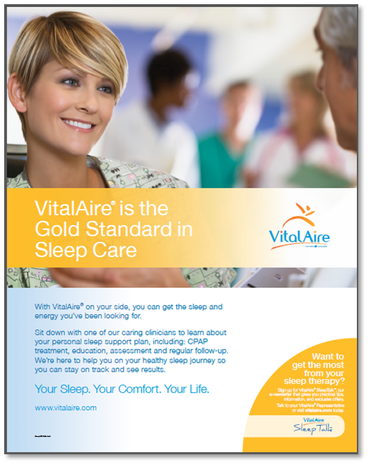 thinkdoDELIVERS  – VitalAire Gold Standard In-Branch Branding