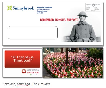 thinkdoDELIVERS  – Sunnybrook Foundation Raise a Flag Campaign