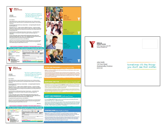 thinkdoDELIVERS  – YMCA Year End Direct Mail