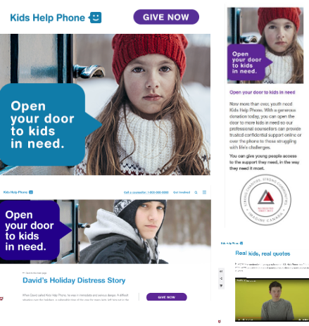 thinkdoDELIVERS – Kids Help Phone Year End Fundraising